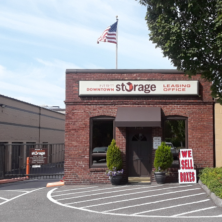Everett Downtown Storage Facility at Hewitt Ave 1 & Self Storage Facility - Everett Downtown Storage (425) 259-5108