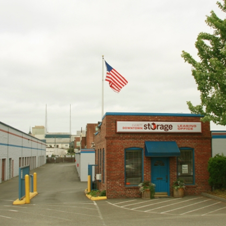 Everett Downtown Storage - Our Facility Location on Hewitt Ave