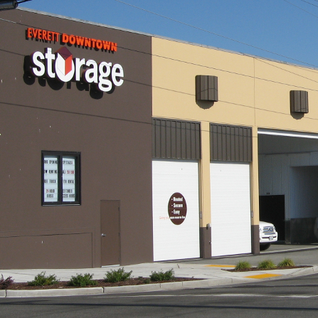 Everett Downtown Storage - Our Facility Location on Mcdougall Ave