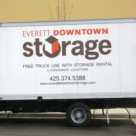 Secure Storage Facility Everett Downtown Storage 425
