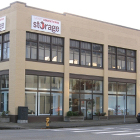 Everett Downtown Storage - Our Facility Location on Rucker Ave